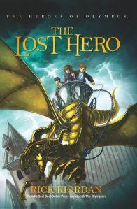 Cover heroes of olympus #1 - The lost hero